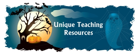 Free Halloween Unique Teaching Resources