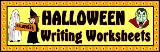 Halloween Printable Worksheets for Fun Creative Writing Activities