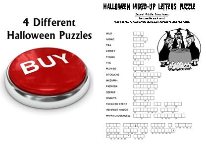Halloween Puzzles Lesson Plans For Teachers Buy Now Button