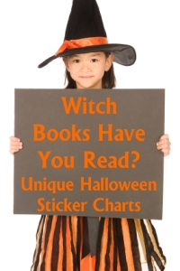 Halloween Witch Sticker Charts for Reading Lesson Plans