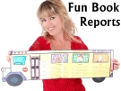 Book Report Templates and Fun Projects