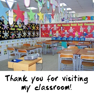 Thank You For Visiting My Classroom
