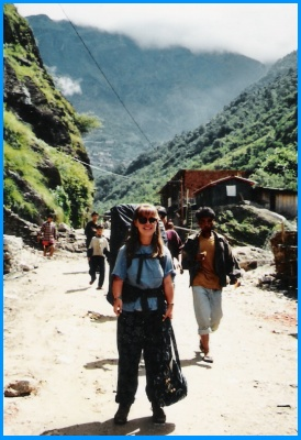 Heidi McDonald Backpacking Through Asia