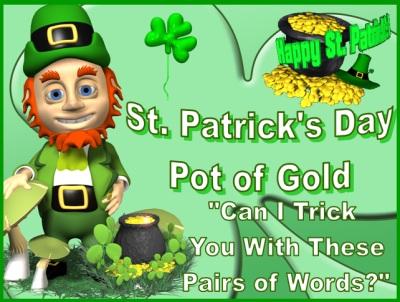 Homophones St. Patrick's Day Powerpoint Presentation