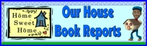 House Shaped Book Report Project Bulletin Board Display Banner