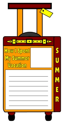 How I Spent My Summer Vacation Lesson Plans Project Mark Teague