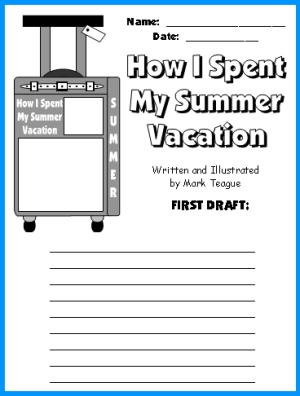 Essay on how i spent my summer vacation : 100% Original + US Native ...