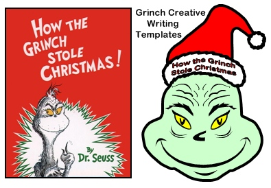 How The Grinch Stole Christmas Creative Writing Templates