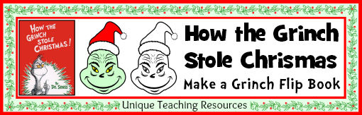 How the Grinch Stole Christmas Fun Student Project