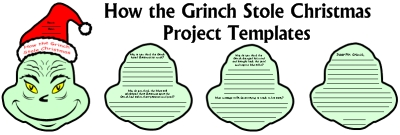 How the Grinch Stole Christmas Fun Student Book Report Project Dr. Seuss