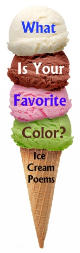 Ice Cream Color Poems: Fun Ice Cream Shaped Writing Templates