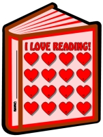 I Love Reading Books Sticker Charts and Templates