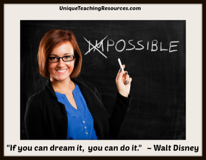 If you can dream it, you can do it. Walt Disney Quotes - Nothing is impossible!