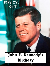 John F Kennedy Birthday May 29, 1917 Creative Writing Prompt