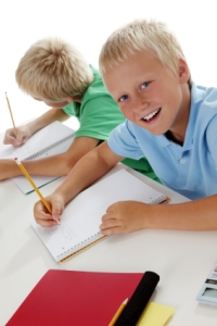 Journal Writing Elementary School Boys
