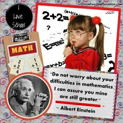 Albert Einstein Quotes - Do not worry about your difficulties in mathematics. I can assure you mine are still greater.