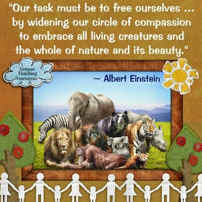 Einstein Quotes - Our task must be to free ourselves by widening our circle of compassion to embrace all living creatures and the whole of nature and its beauty.