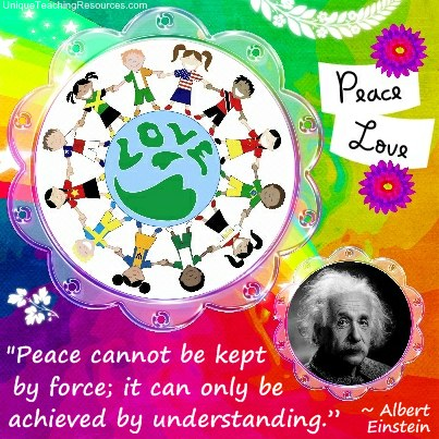 Albert Einstein Quotes - Peace cannot be kept by force; it can only be achieved by understanding.