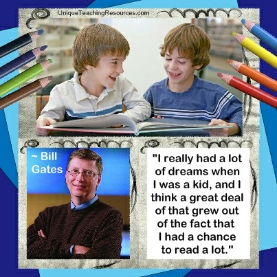Bill Gates Quotes About Reading Books