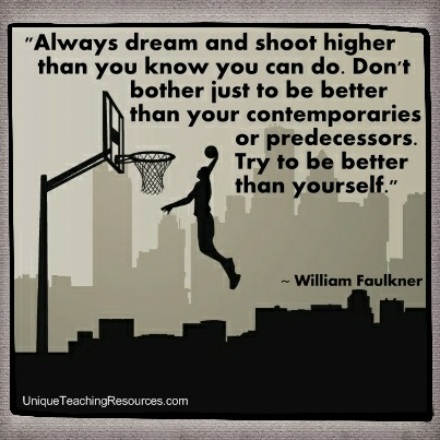 Famous Motivational Quotes By William Faulkner - Always dream and shoot higher than you know you can do.