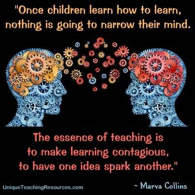Quotes About Learning - Once children learn how to learn, nothing is going to narrow their mind. Marva Collins