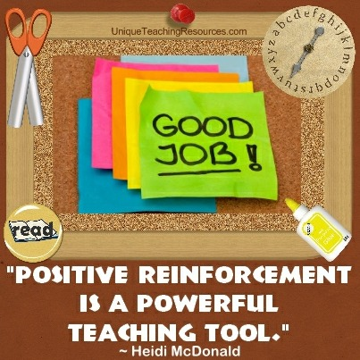 Positive reinforcement is a powerful teaching tool. Heidi McDonald
