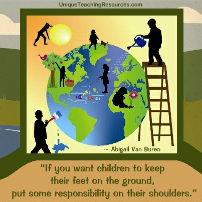 Quotes About Children - If you want children to keep their feet on the ground, put some responsibility on their shoulders.
