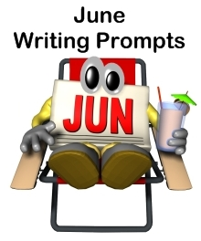 June Creative Writing Prompts For Elementary School Teachers and Students