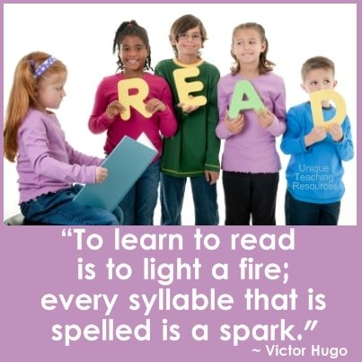 Quote about learning to read.