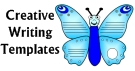 Creative Writing Templates Butterfly Project