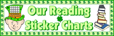 St. Patrick's Day Leprechaun Bulletin Board Display Banner