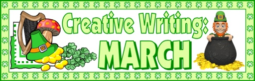 St. Patrick's Day Writing Bulletin Board Display Banner