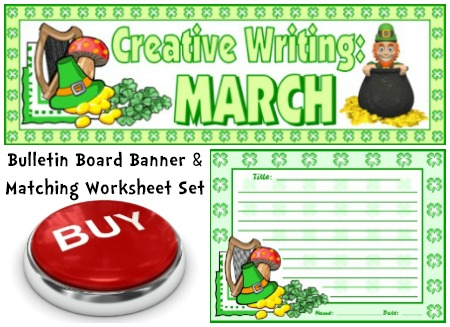 March St. Patrick's Day Creative Writing Lesson Plans