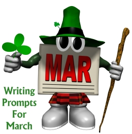 St. Patrick's Day and March Writing Prompts and Journal Ideas for Elementary School Students