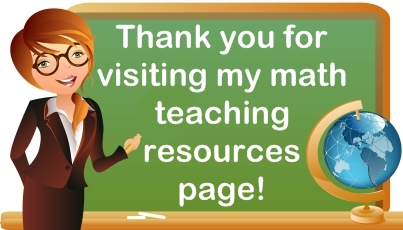 Math Teaching Resources For Elementary School Teachers