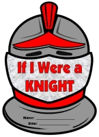 Medieval Knight Helmet Creative Writing Templates and Projects
