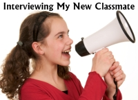Interviewing My Classmates Back To School Lesson Plans