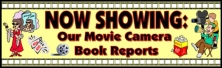 Movie Camera Book Report Projects Bulletin Board Display Banner