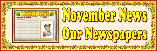November News Newspaper Creative Writing