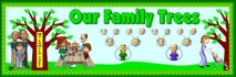 Our Family Tree Bulletin Board Display Banner