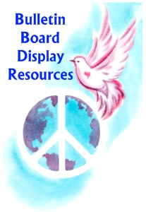 Peace Bulletin Board Display Teaching Resources and Ideas