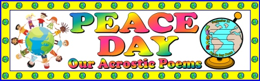 Free Peace Day Teaching Resources Bulletin Board Display Banner for Teachers