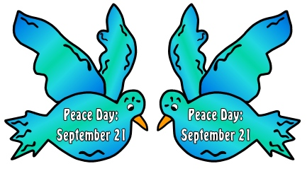 Peace Day Bulletin Board Display Examples