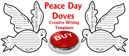 Buy Peace Day Doves Poetry Creative Writing Templates Now