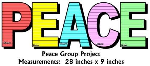 Peace Day Group Project Activities and Lesson Plans for Elementary Teachers