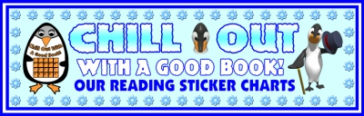 Winter Penguin Sticker Chart Bulletin Board Display Banner