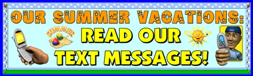 My Summer Vacation Back to School Activity Bulletin Board Display Classroom