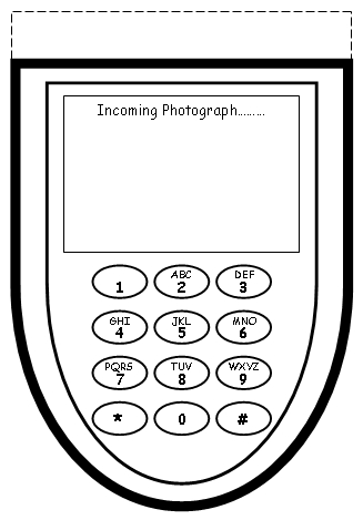 My Summer Vacation Cell Phone Project Templates Bottom