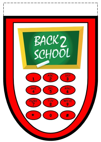Grade 5 Back to School Lesson Plans Bottom Cell Phone Template