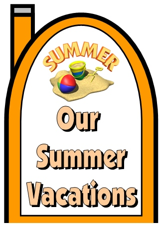 Our Summer Vacation Writing Worksheets and Templates Top